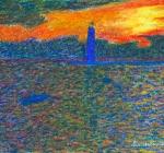 Frankfort breakwater light 7oct