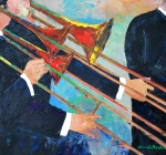 Trombone Section 16x20